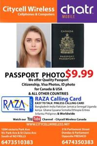 PASSPORT PHOTO ANY KIND ID PHOTO $7.99 DOWNTOWN & SCARBOROUGH