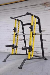 NEW eSPORT LIGHT COMMERCIAL SMITH SQUAT  RACK COMBO BESST OF TWO DR001