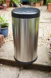 SIMPLE HUMAN Kitchen Bin Stainles Steel 45 Litre Model Liner Code J