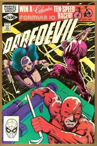 Daredevil #176 NM- Frank Miller 1st Stick