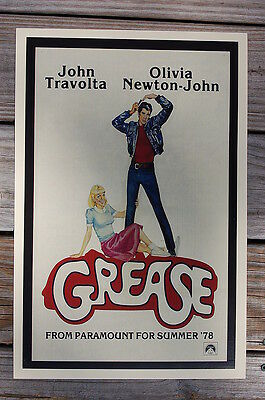 Art Grease Lobby Card Movie Poster #2