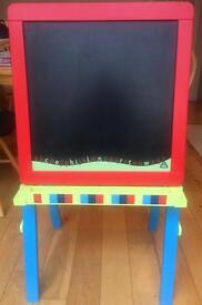 ELC Magnetic Whiteboard & Chalkboard