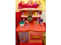 Smyths play toy kitchen with lots of extras