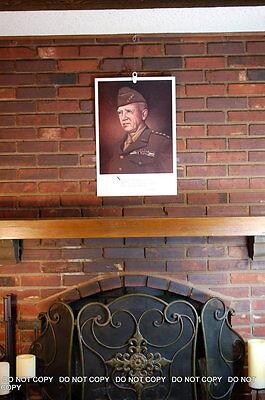 Print General George Patton original art  John English