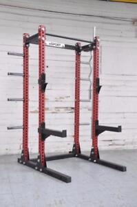 "Free Shipping coupon code BETTER THEN USA (R) BRAND New eSPORT IRON BULL 300 Laser cut 3"" x 3"" (Gage 11) Commercial Rack"