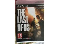 The Last of us PS3 game for sale