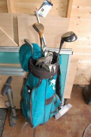 simmons left handed golf clubs