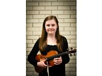 Qualified Upper Strings Tutor in South Birmingham. High quality violin and viola lessons.