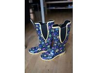 "Girls / lady high rubber boots ""RANGER"" size 4"
