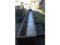 metal trough for sale