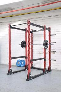 "BETTER THAN USA (R) brand, New  eSPORT IRON BULL 550 Laser cut 3"" x 3"" (Gage 11) Full Commercial Rack"