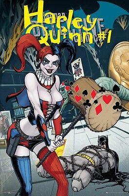 Harley Quinn Forever Evil Batman Poster - Comic Cover Art size 24x36 (Evil Harley Quinn)