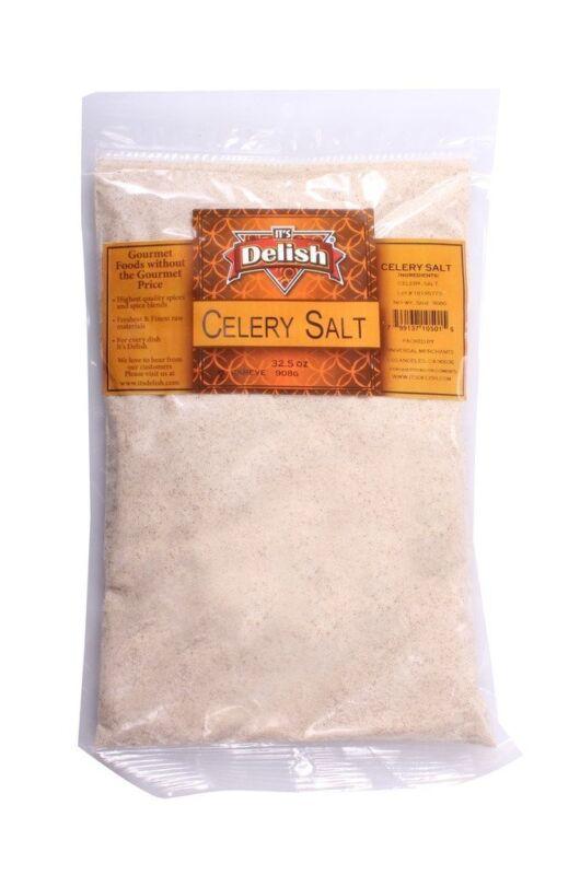 Celery Salt Seasonings by Its Delish, 5 lbs Bulk