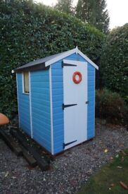 Very Cute 6ft by 4ft Timber Garden Shed in Great Condition!