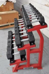 New eSPORT PREMIUM NEW MODERN STYLE DUMBBELLS SETS 3lb to 50lb (Go to our Web esportfitness.ca)