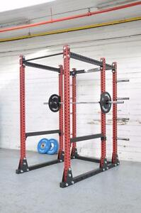 "BETTER THEN USA (R) brand, New  eSPORT IRON BULL 550 Laser cut 3"" x 3"" (Gage 11) Full Commercial Rack"