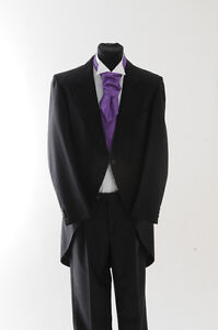 MJ-37-Boys-Black-Herringbone-Tails-Jacket-for-wedding-dress-formal