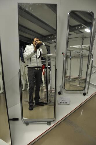 Nieuwe spiegel spiegels op wielen tbv winkelinventaris for Marktplaats spiegel