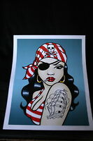 A PIRATE'S LIFE FOR ME by Claudia Hek (15/20 giclee print)
