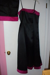 Cocktail Dress - strapless (size10)
