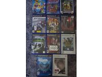 11 X PS2 PLAY STATION 2 GAMES-AGE 3+ GOOD USED-HULK/JUDGE DREDD/NEMO/SIMPSONS-COLLECT ONLY BENFLEET