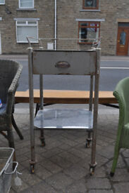 vintage thackray medical trolley