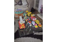 Various Fisher-Price items
