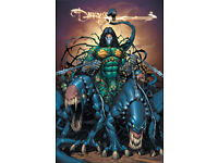The Darkness Comic collection on 2 Digital DVD Discs and comic reader software.