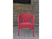 vintage retro cane chair