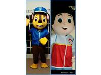 Hire paw patrol look alike mascot costume
