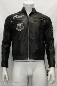 Falcon-Mens-Slim-Fit-Soft-Light-Weight-Sports-Fashion-Nappa-Sheep-Leather-Jacket