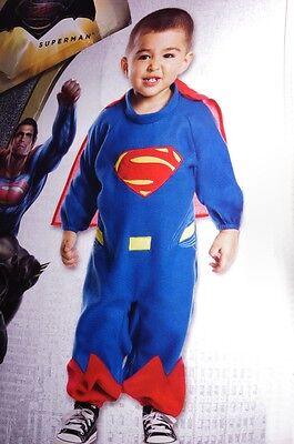 Baby Boys Toddler Batman v SUPERMAN Super Man Halloween Purim Costume 2 4 - Baby Super Man