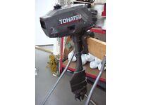 TOHATSU 3.5hp OUTBOARD ENGINE LONG SHAFT 2002