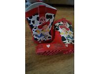 Toy Story Jessie Cowboy Wellies size 9