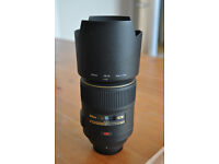 Nikkor 105mm 1:2.8 G ED Macro lens