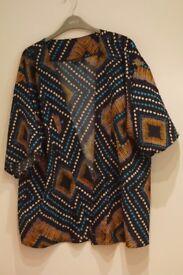 Short Kimono Jacket- Size 18