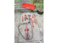 Body repair press kit