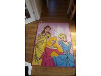 Disney Princess floor rug