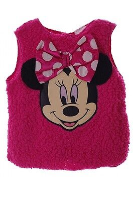 Disney Minnie Mouse Girls Pink Costume Shirt Pullover 12 18 Month Toddler 2T - 18 Month Minnie Mouse Costume