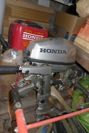 Honda BF5 + inflatable pontoon Zodiak ZED 31