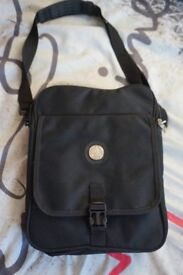 Brand new travel bag (shoulder bag with various pockets: middle zip opening to med sized hold-all)