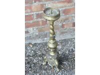 Antique Brass Candle stick.