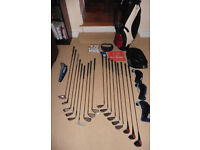 Full set of Ram Golf Clubs with bag and many accessories