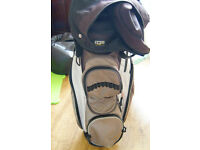 Izzo Golf Bag 8 Way Divider with hood