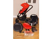 QUINNY MOOD pushchair / pram 3 In 1 and accessories