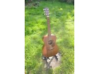 Sigma 000-15 mahogany with fishman rare earth pickup