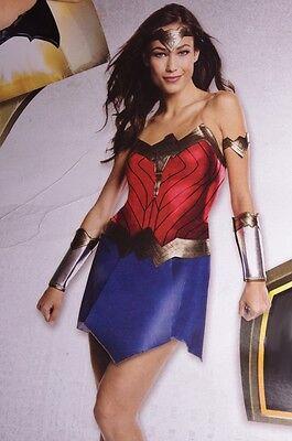Womens Wonder Woman Movie Halloween Costume Sexy Cosplay Dress Adult S M Lg NEW ()
