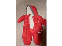Winter Suit size 9-12 months