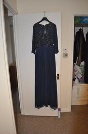 Ladies Frock and Frill Gown Size 16