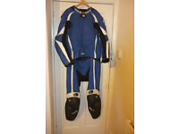 BKS Silverstone Two-piece bike leathers. Only worn handful of times. Cost over £600 new.